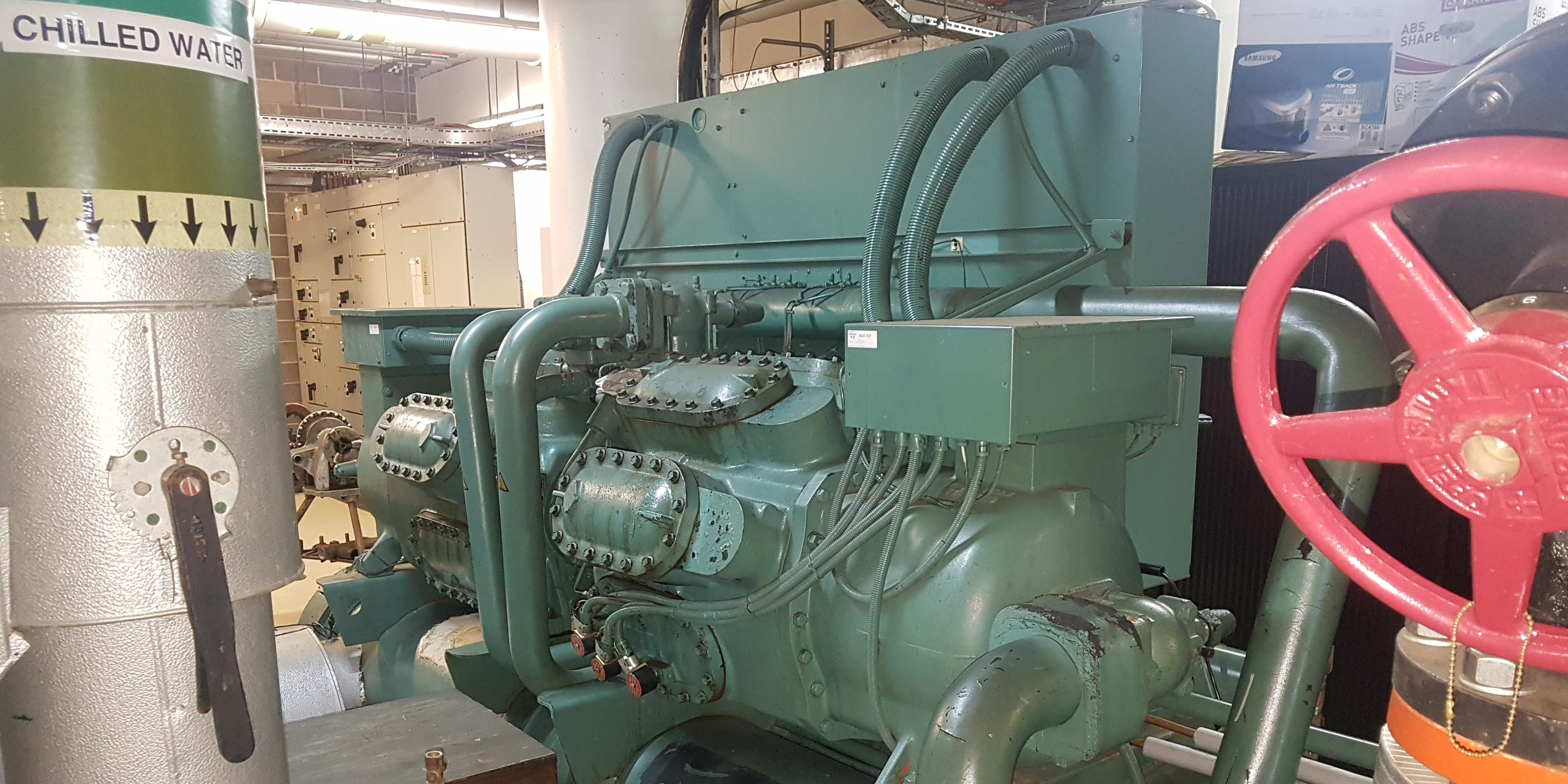 Water Cooled Chiller Repair