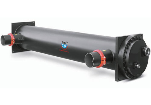 Black shell and tube evaporator