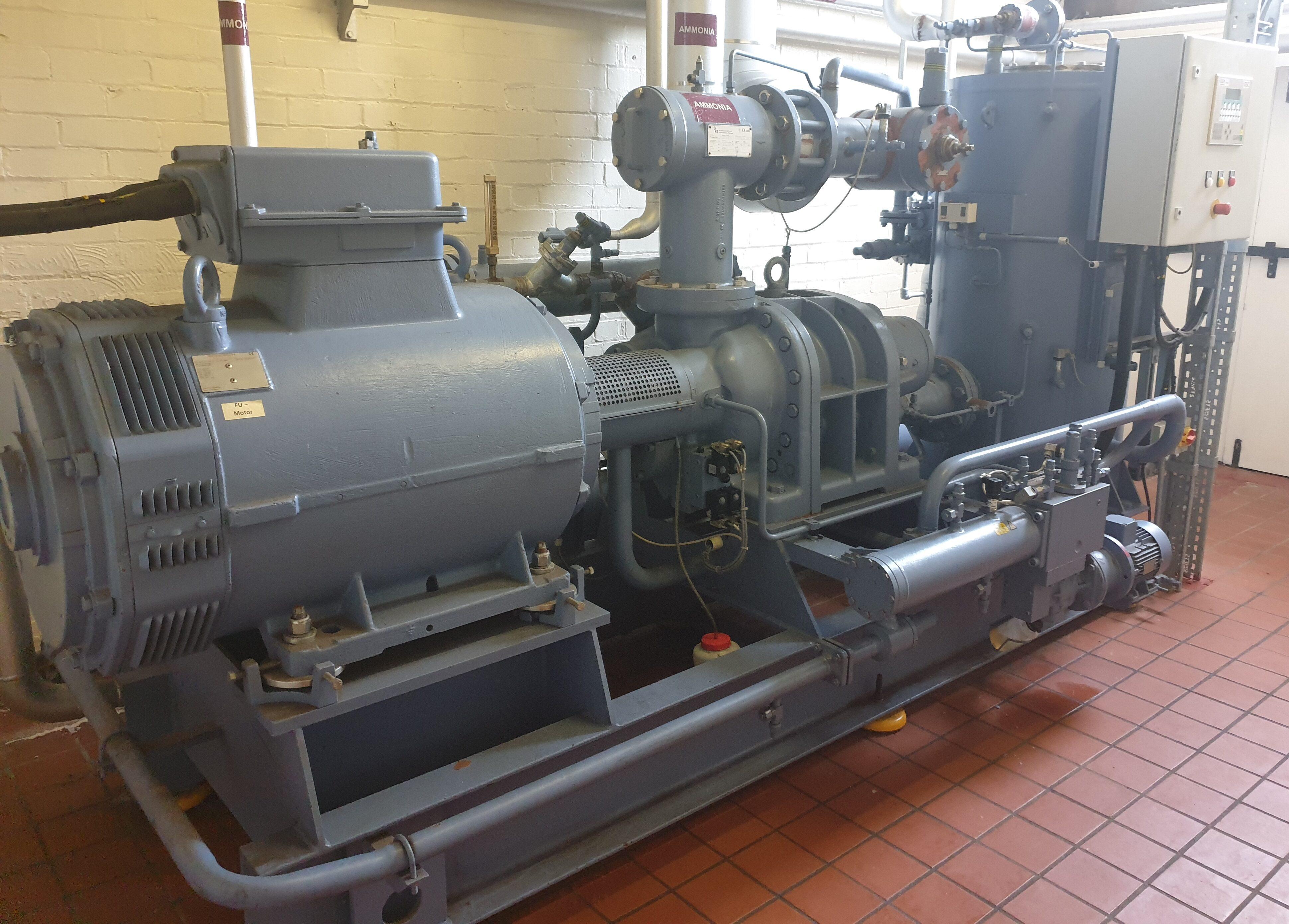 Grasso Screw Compressor